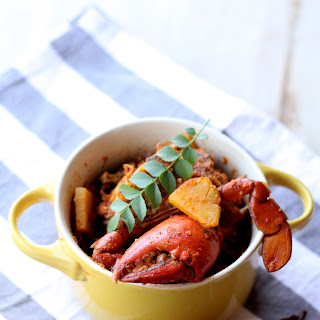 Crab and Pineapple Curry