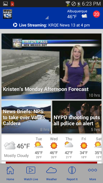 KRQE News 13 - screenshot