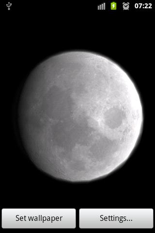 Moon Live Wallpaper - Android Apps on Google Play