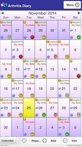 Arthritis Diary
