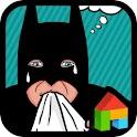 Funny betman dodol theme icon
