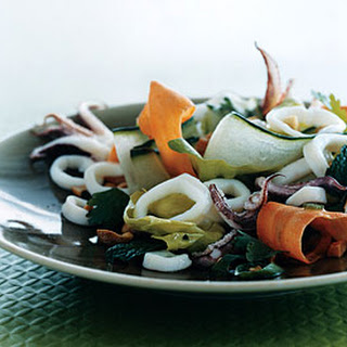 Southeast Asian Squid Salad.