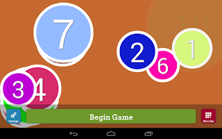 Screenshot of Counting Numbers Infant App