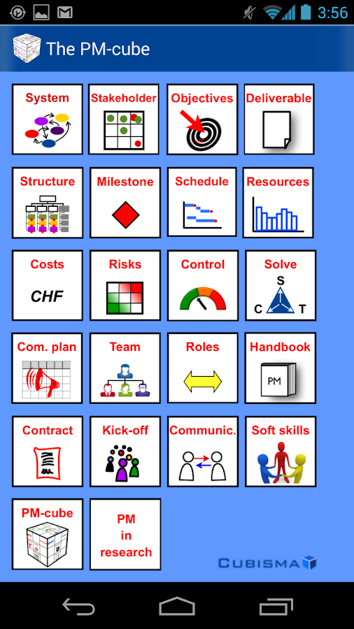 The Project Management - Cube- screenshot