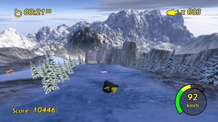 Tux Racer- screenshot thumbnail