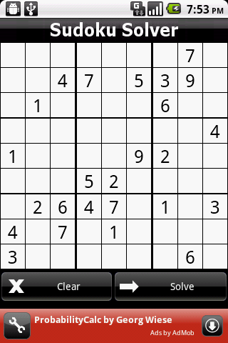 Sudoku Solver donate- screenshot