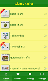 Islamic radios - screenshot thumbnail