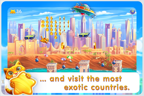 Barsik: Escape from New York- screenshot