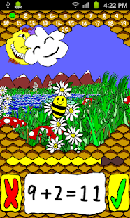 Bee Maths - screenshot thumbnail