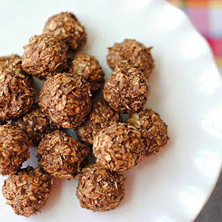 Chocolate Peanut Butter Balls.