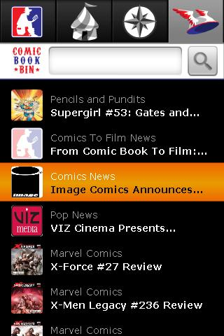 ComicBookBin - screenshot