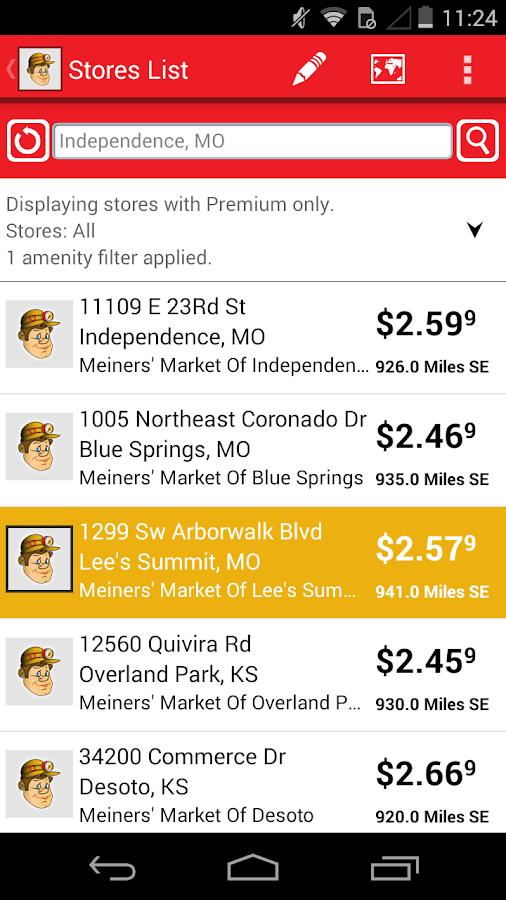 Meiners Markets Deal Alerts - screenshot