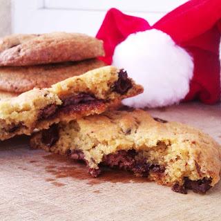 Nutella Stuffed Chocolate Chunk Cookies Recipe