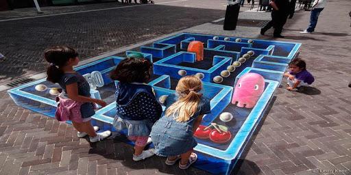 3D街道图像