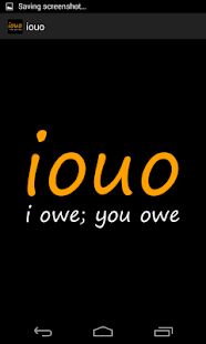 iouo - I owe; you owe - screenshot thumbnail