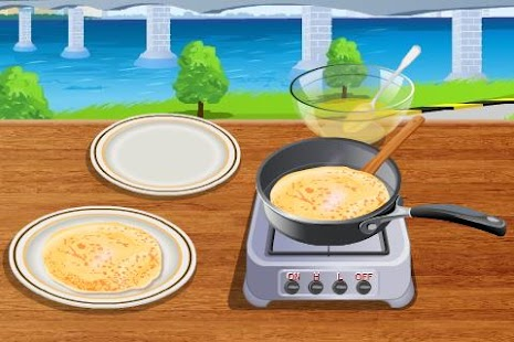 Crepes Cooking- screenshot thumbnail