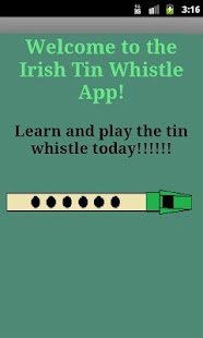 The Irish Tin Whistle App - screenshot thumbnail