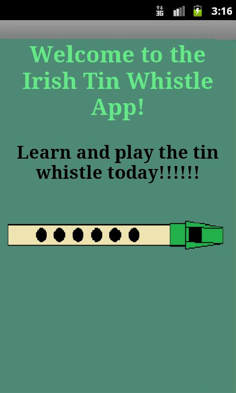Tin whistle learn notes app