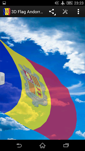 3D Flag Andorra LWP