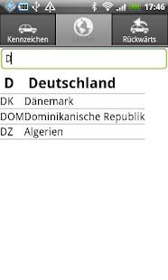 KFZ Kennzeichen D/A/CH/I/PL/F – Miniaturansicht des Screenshots