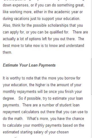 【免費財經App】Student Loans Guide-APP點子