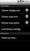 Screenshot of Human Noise Soundboard