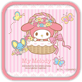 My Melody in Basket Theme