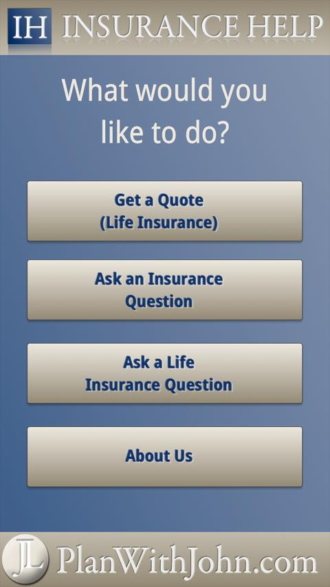 Insurance Help- screenshot