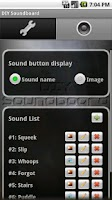 Screenshot of DIY Soundboard