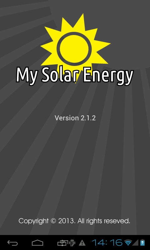 My Solar Energy - screenshot