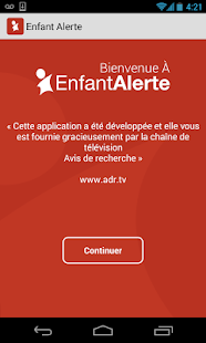 Enfant Alerte- screenshot thumbnail