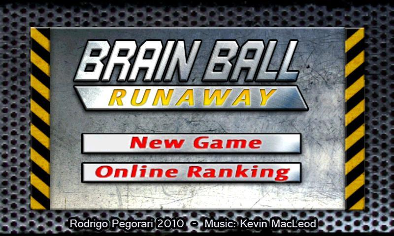 Brain Ball Runaway Free - screenshot