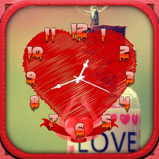 生活必備App|Love Clock Live Wallpaper LOGO-綠色工廠好玩App