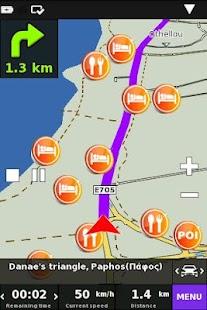 Cyprus On Road GPS Navigation- screenshot thumbnail