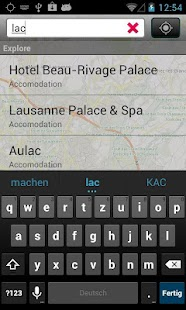 City Guide Lausanne - screenshot thumbnail