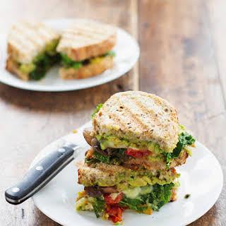 Avocado Veggie Panini.