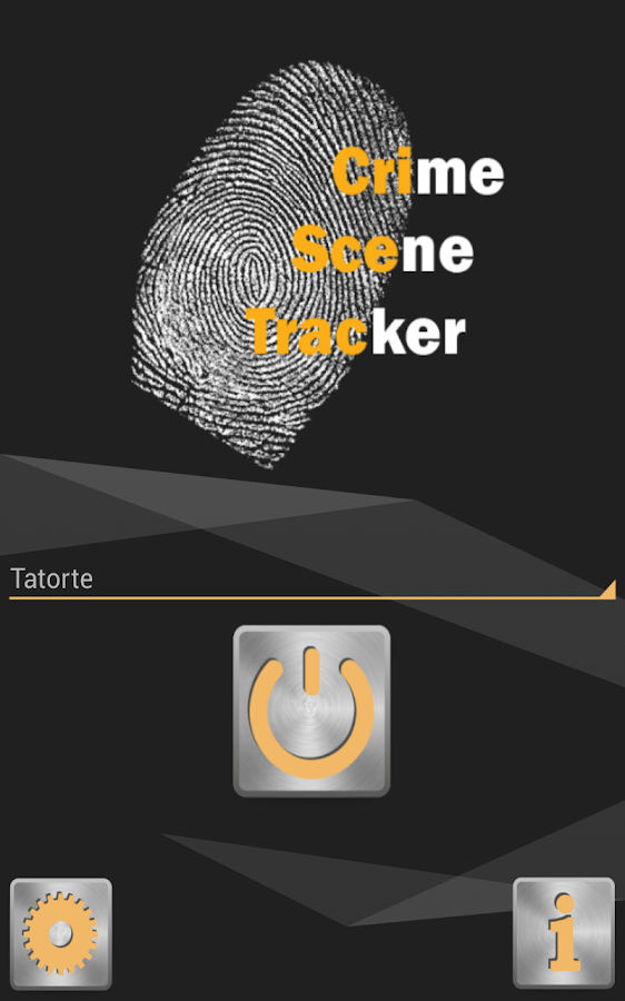 Crime Scene Tracker - screenshot
