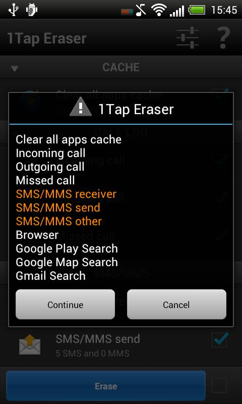 1Tap Eraser Pro- screenshot