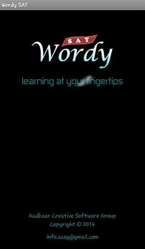 Wordy SAT