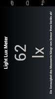 Screenshot of Light Lux Meter