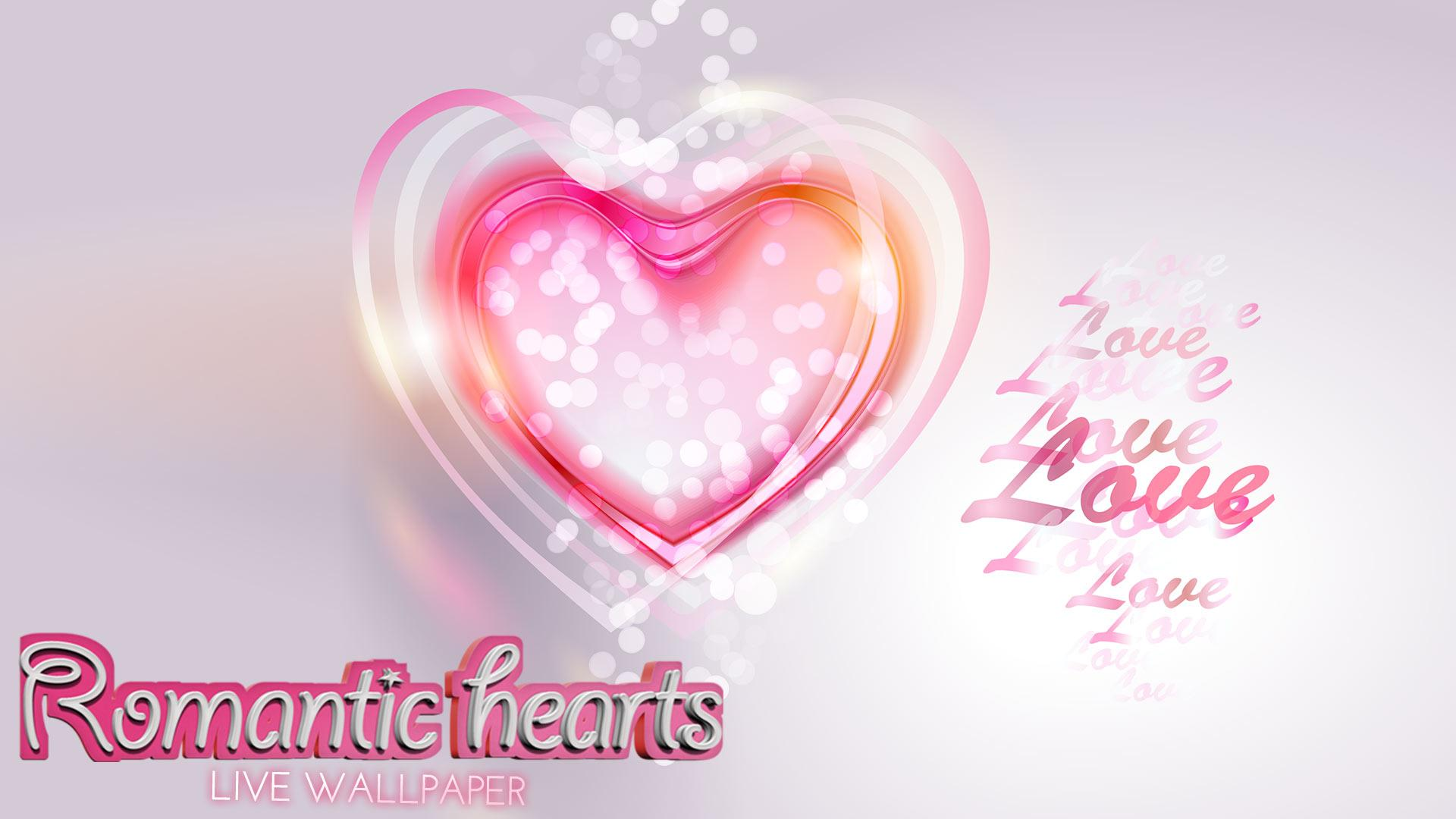 Romantic Hearts Live Wallpaper Google Play Store revenue