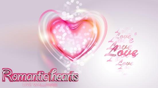 浪漫心臟动态壁纸