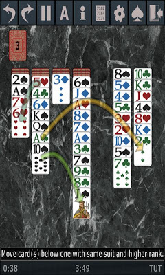 Free Solitaire 3D - screenshot