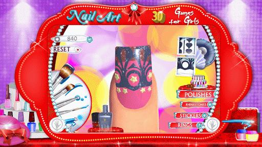 玩免費生活APP|下載ネイルアート女の子ゲーム app不用錢|硬是要APP