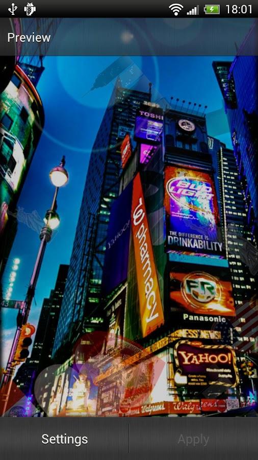 New York Live Wallpaper - screenshot