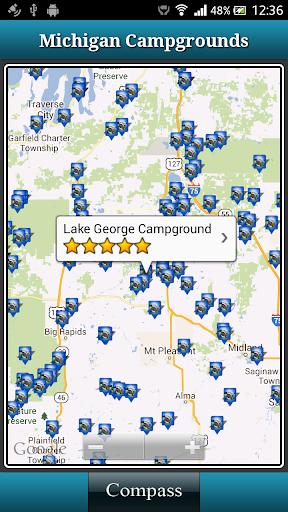 Michigan Campgrounds
