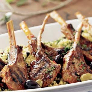 Grilled Lamb Chops with Harissa.