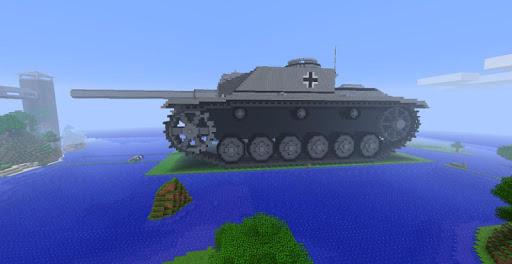 Perfect Tank Ideas Minecraft