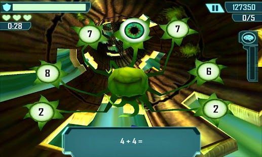 Math Blaster HyperBlast 2 Free- screenshot thumbnail