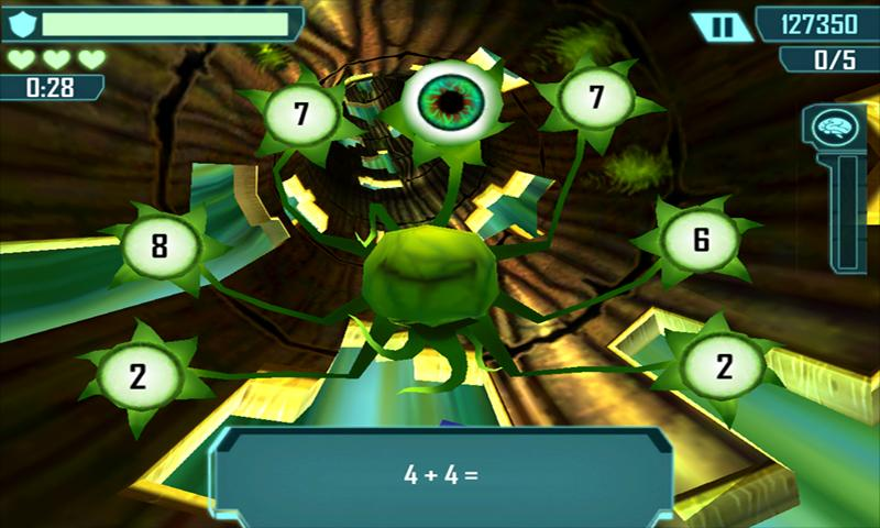Math Blaster HyperBlast 2 Free - screenshot